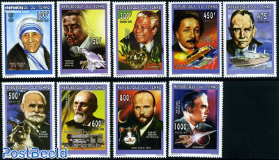 Nobel Prize Winners 9v