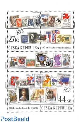 Czech stamps s/s