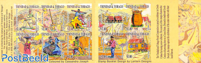 Creole Harvest 10v s-a in booklet