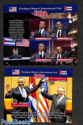 Obama's visit to Cuba 2 s/s
