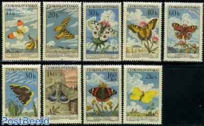Butterflies 9v