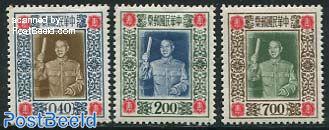 Chiang Kai Shek 3v