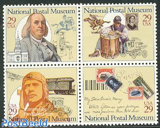 Postal museum 4v [+]  or [:::]