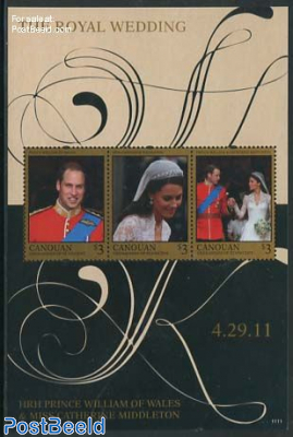 The Royal Wedding 3v m/s