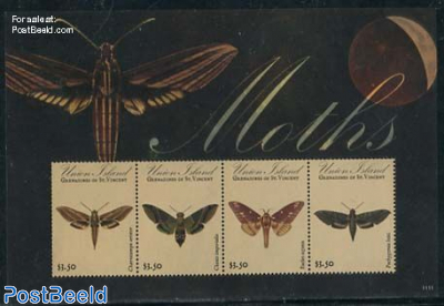 Union Island, Moths 4v m/s