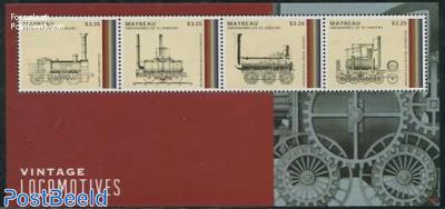 Vintage locomotives 4v