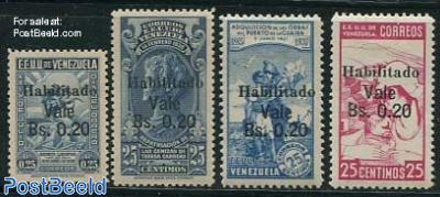 Habilitado overprints 4v