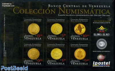 Numismatic collection 6v m/s