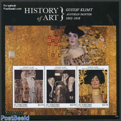 History of Art, Gustav Klimt 3v m/s