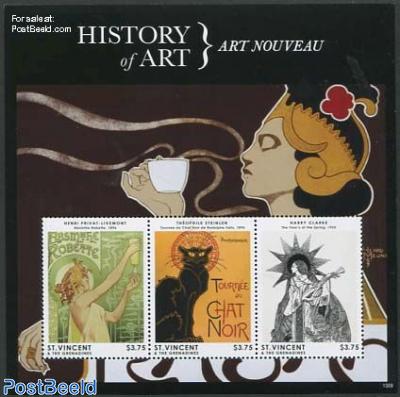 History of art 3v m/s