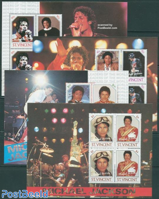 Michael Jackson 4 s/s