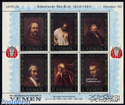 Rembrandt paintings s/s