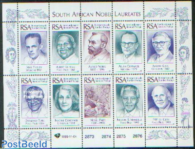 Nobel prize winners 10v m/s