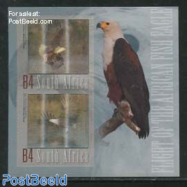 Fish Eagle s/s (3-D Stamps)
