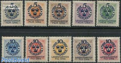 Overprints 10v