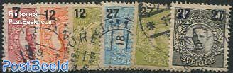 Overprints 6v