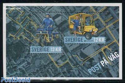 Europa, Postal transport s/s