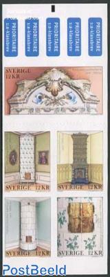 Tile heatings 5v s-a in foil booklet
