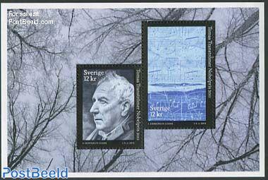 Tomas Transtromer Nobel prize s/s