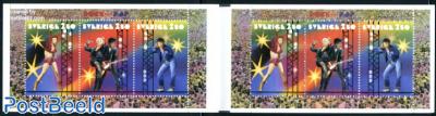 Pop music booklet