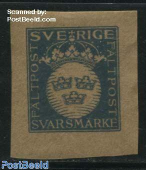 Military stamp 1v