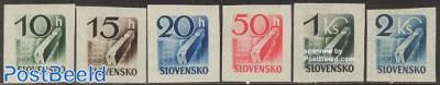 Newspaper stamps 6v
