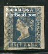 1/2A Blue, Queen Victoria