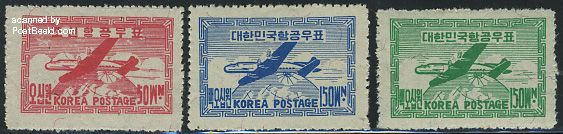 Airmail 3v